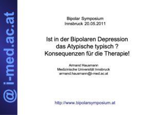 Hausmann Bipolar Symposium 20.05.2011