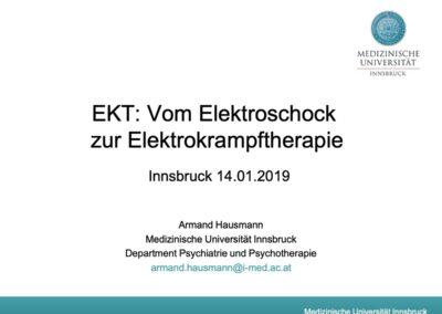 EKT: Vom Elektroschock zur Elektrokrampftherapie