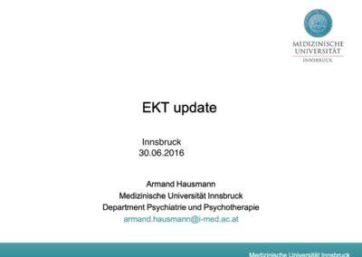 EKT update