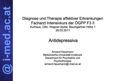 Diagnose und Therapie affektiver Erkrankungen