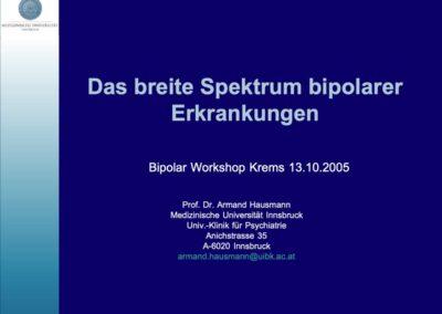 Das breite Spektrum bipolarer Erkrankungen