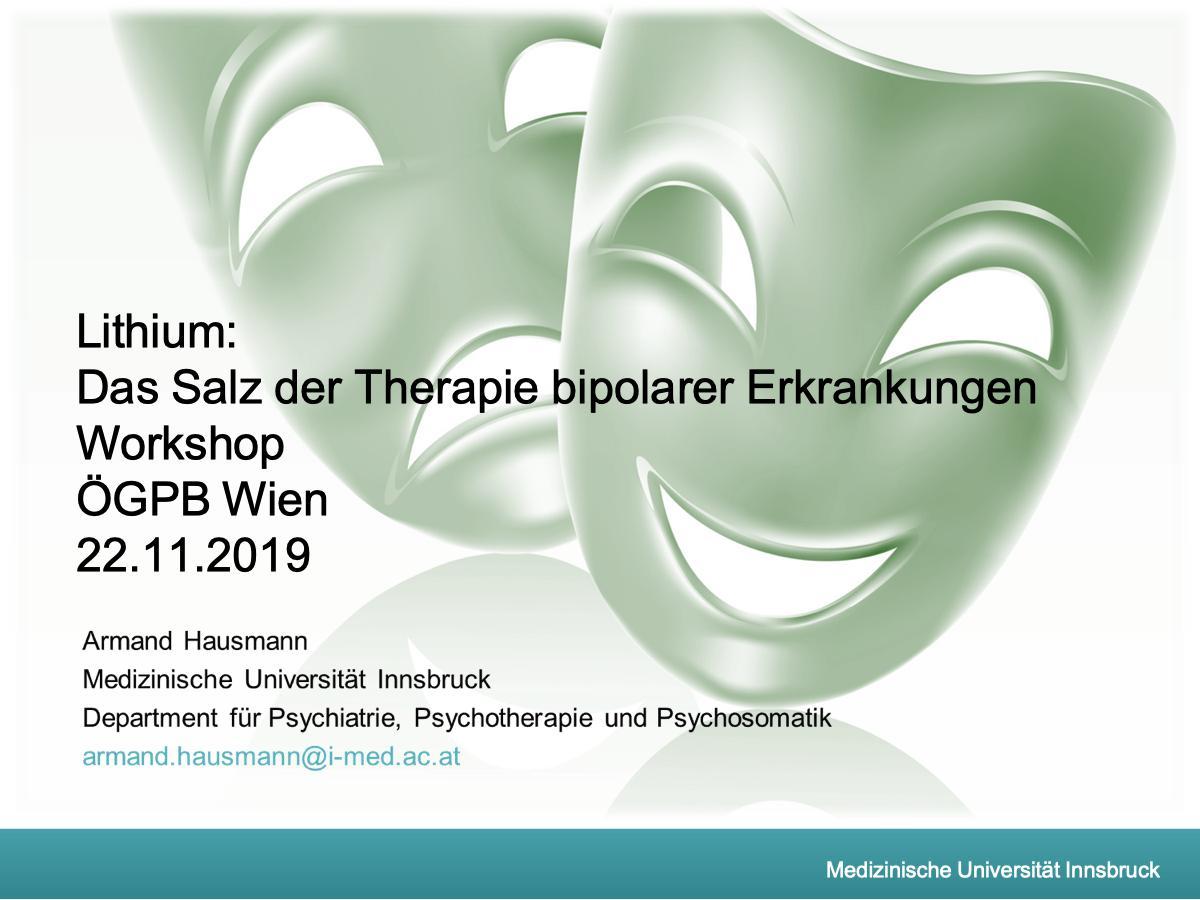 Lithium: Das Salz der Therapie bipolarer Erkrankungen - Psychiater